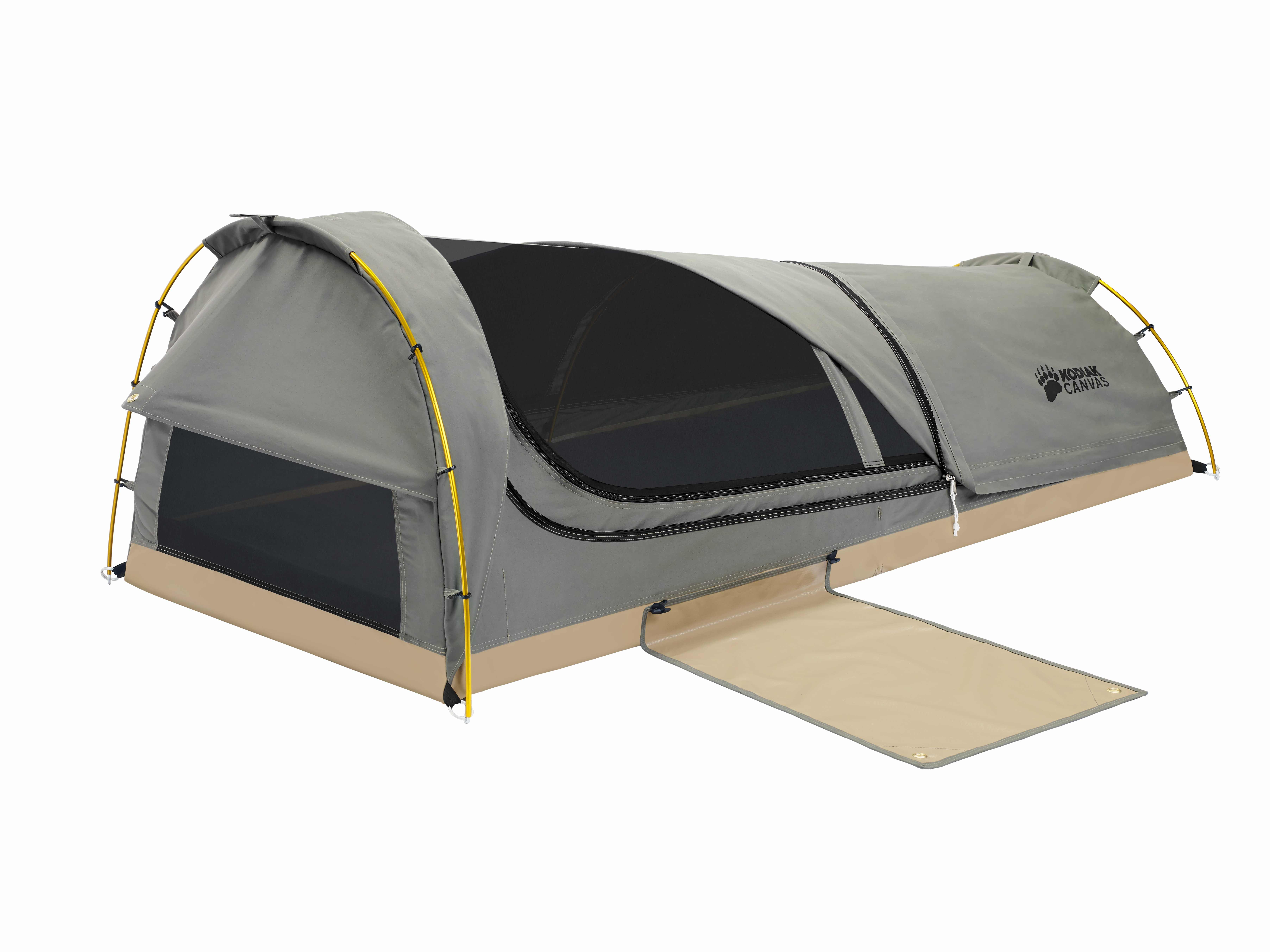 Homeu003eKodiak Canvas Tentsu003eFlex-Bow Canvas Tents u003e Swag 1 person Canvas Tent  sc 1 st  Kodiak Flex Bow Tents & Swag 1 person Canvas Tent